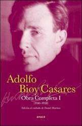 Papel Obra Completa I Adolfo Bioy Casares