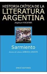 Papel HISTORIA CRITICA DE LA LITERATURA ARGENTINA 4 SARMIENTO