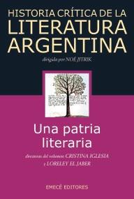 Papel Historia Crítica De La Literatura Argentina T.1 Una Patria Literaria