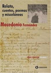Libro 7. Relato Cuentos Poemas Y Miscelaneas  Obras Completas