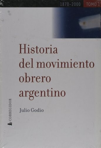 Papel Historia Del Movimiento Obrero Argentino (2 Tomos)