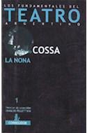 Papel NONA (FUNDAMENTOS DEL TEATRO ARGENTINO) (BOLSILLO)