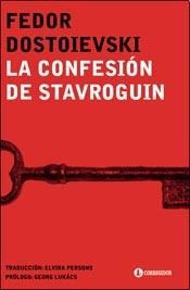 Papel Confesion De Stavroguin, La