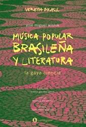 Libro Musica Popular Brasile/A Y Literatura