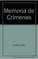 Papel MEMORIA DE CRIMENES (POCKET)