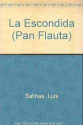 Libro La Escondida  Pan Flauta