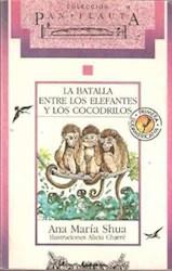 Papel Batalla Entre Los Elefantes Y Los Cocodrilos