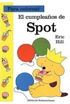 Papel CUMPLEAÑOS DE SPOT, EL (PARA COLOREAR)