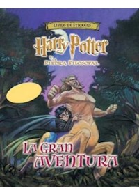 Papel Libro De Stickers - Harry Potter La Gran Aventura