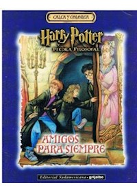 Papel Harry Potter, Amigos Para Siempre (Calca Y Colorea) O/D