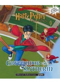 Papel Libro De Stickers - Harry Potter (Gryffindor Vs Slytherin)