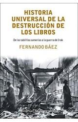Papel HISTORIA UNIVERSAL DE LA DESTRUCCION DE LOS LIBROS