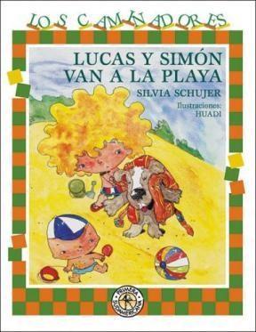 Papel Lucas Y Simón Van A La Playa