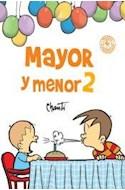 Papel MAYOR Y MENOR 2 (COLECCION PRIMERA SUDAMERICANA) (RUSTICA)