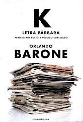 Libro K  Letra Barbara