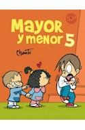 Papel MAYOR Y MENOR 5 (PRIMERA SUDAMERICANA) (RUSTICA)