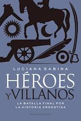 Papel Heroes Y Villanos