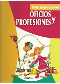 Papel Oficios Y Profesiones - Pinto Juego Aprendo -