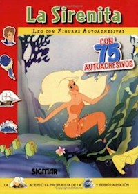 Papel Leo Con Figuras - La Sirenita