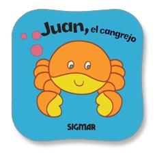 Papel JUAN, EL CANGREJO - COLECCION ESPUMA