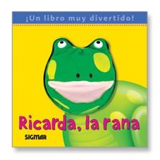 Papel RICARDA, LA RANA - COLECCION TITIRITERO