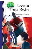 Papel TERROR EN DIABLO PERDIDO (COLECCION TELARAÑA)