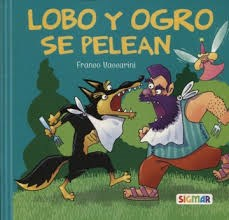 Libro Barrilete Azul Lobo Y Ogro Se