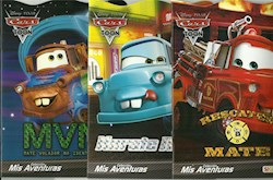 Papel Coleccion Mis Aventuras Cars