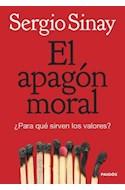 Papel APAGON MORAL PARA QUE SIRVEN LOS VALORES (8096008)