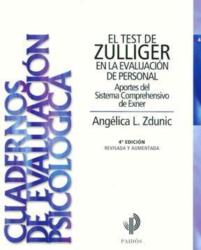 Papel El Test De Zullinger En La Evaluación De Personal 5Ta Edición