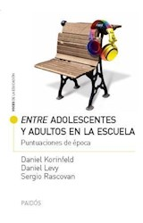 Papel ENTRE ADOLESCENTES Y ADULTOS EN LA ESCUELA