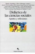 Papel DIDACTICA DE LAS CIENCIAS SOCIALES APORTES Y REFLEXIONES (EDUCADOR 26110)