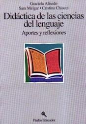 Papel Didactica De Las Ciencias Del Lenguaje