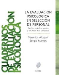Papel Evaluacion Psicologica En Seleccion De Perso.