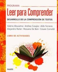 Libro Programa Leer Para Comprender  Libro De Actividades