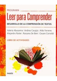 Papel Programa Leer Para Comprender- Libro De Actividades