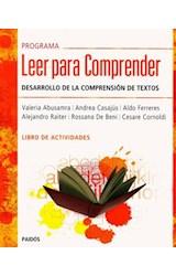 Papel PROGRAMA LEER PARA COMPRENDER DESARROLLO DE LA COMPRENSION DE TEXTOS LIBRO DE ACTIVIDADES