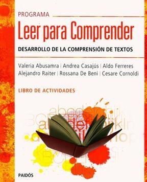 Papel Programa Leer Para Comprender (Tlc). Libro De Actividades