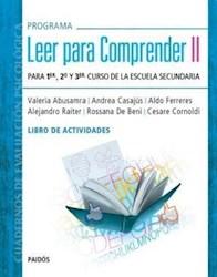 Libro 2. Leer Para Comprender  Libro Actividades 1 A 3 Escuela Secundaria