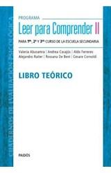 Papel LEER PARA COMPRENDER II LIBRO TEORICO