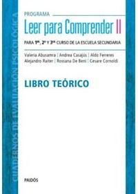 Papel Programa Leer Para Comprender Ii (Teórico)