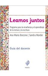 Papel LEAMOS JUNTOS GUIA DEL DOCENTE