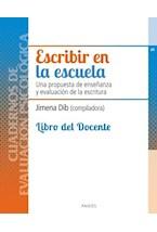 Papel ESCRIBIR EN LA ESCUELA LIBRO DEL DOCENTE