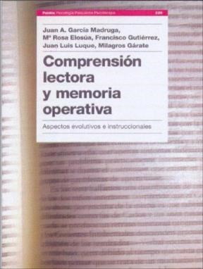 Papel Comprension Lectora Y Memoria Operativa. Aspectos Evolutivos