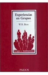 Papel EXPERIENCIAS EN GRUPOS (GRUPOS E INSTITUCIONES 14304)