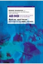 Papel AD/HD QUE ES, QUE HACER (RECOMENDACIONES PARA PADRES Y DOCEN