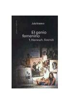 Papel GENIO FEMENINO 1, EL (HANNAH ARENDT)