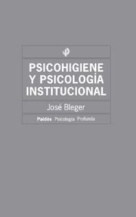 Papel Psicohigiene Y Psicologia Institucional