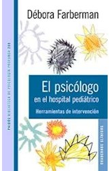 Papel EL PSICOLOGO EN EL HOSPITAL PEDIATRICO