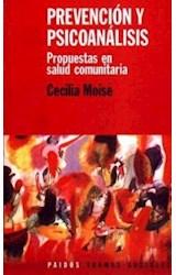 Papel PREVENCION Y PSICOANALISIS-PROPUESTAS EN SALUD COMUNITARIA